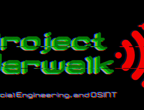 Project Warwalk: PII, Social Engineering, and OSINT